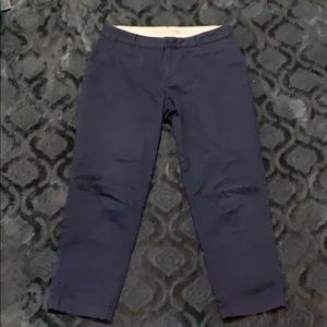 Dockers ankle length navy pants size 10